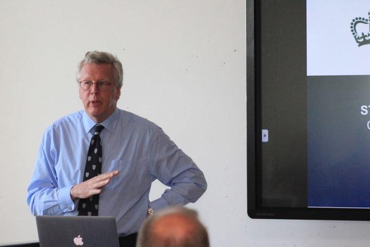 Dr Charles Mynors